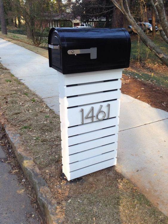 Clean lines mailbox diy