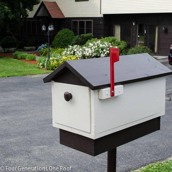 Diy from scratch wooden mailbox