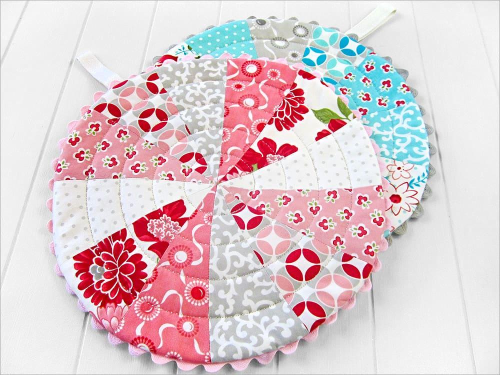 Diy patchwork trivets