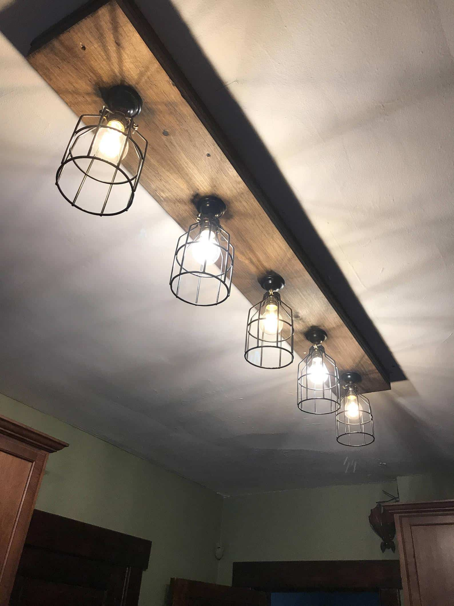 Farmhouse beam lights