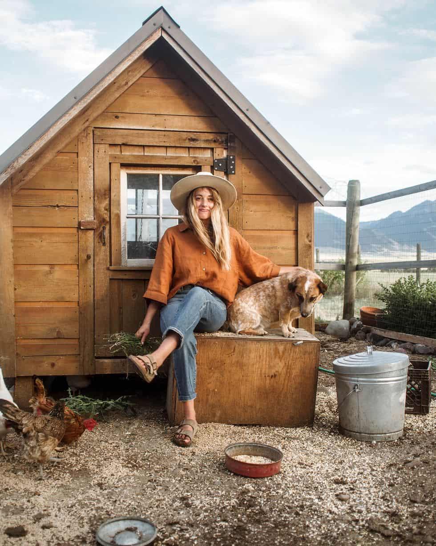 Rustic chicken coop plans