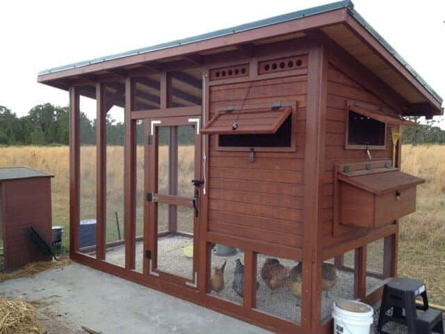 The palace chicken coop