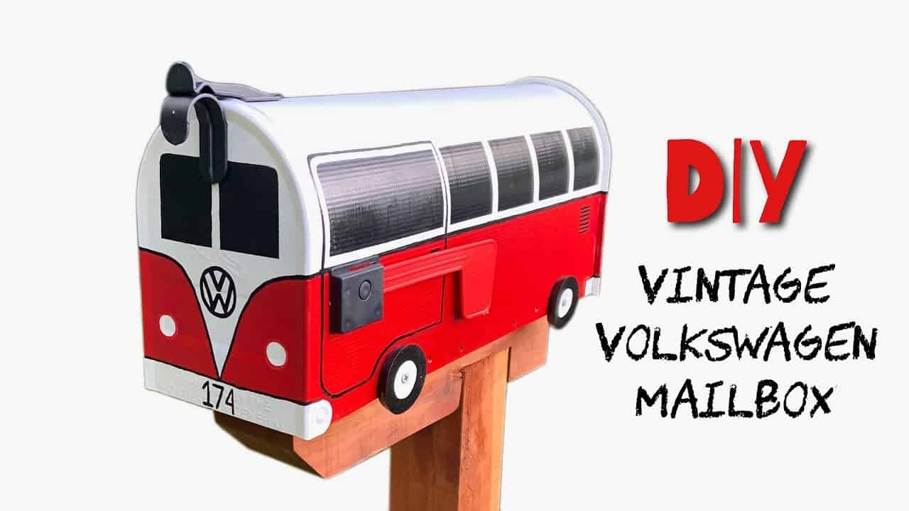 Vw bus mailbox diy