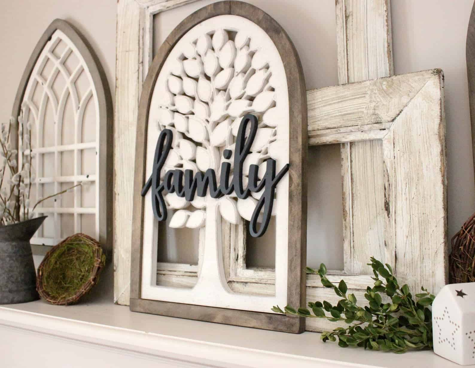 Window family sign