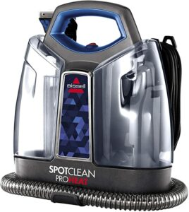 Bissell spotclean proheat portable  spot & stain carpet cleaner
