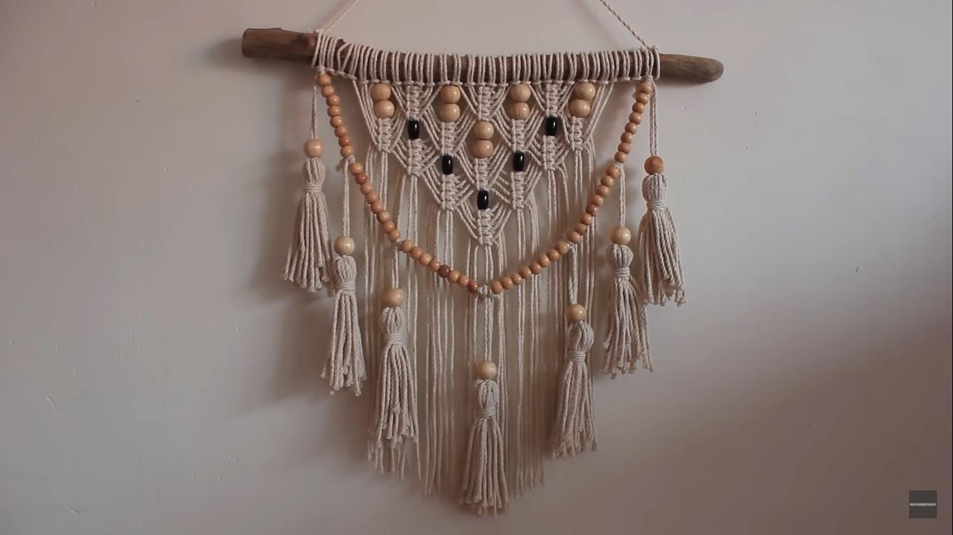 Boho tassles and beads