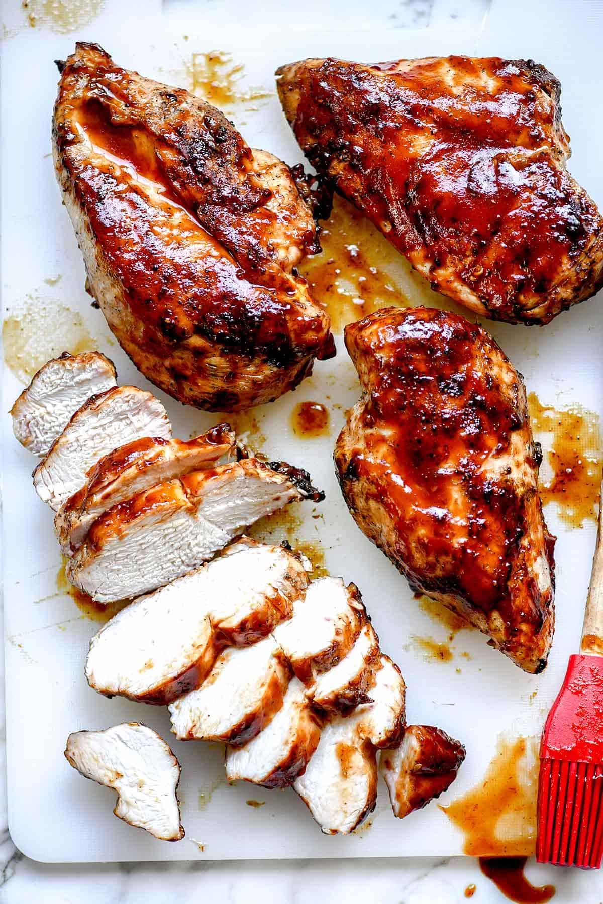 Boneless bbq chicken breasts