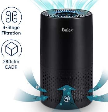 Bulex hepa air purifier air purifier with true hepa filter