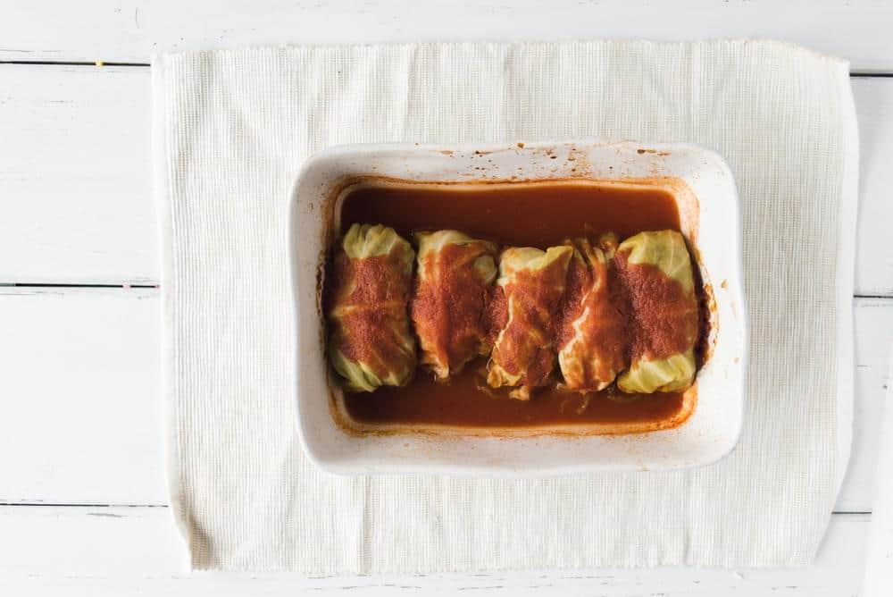 Grandma's old fashioned cabbage rolls