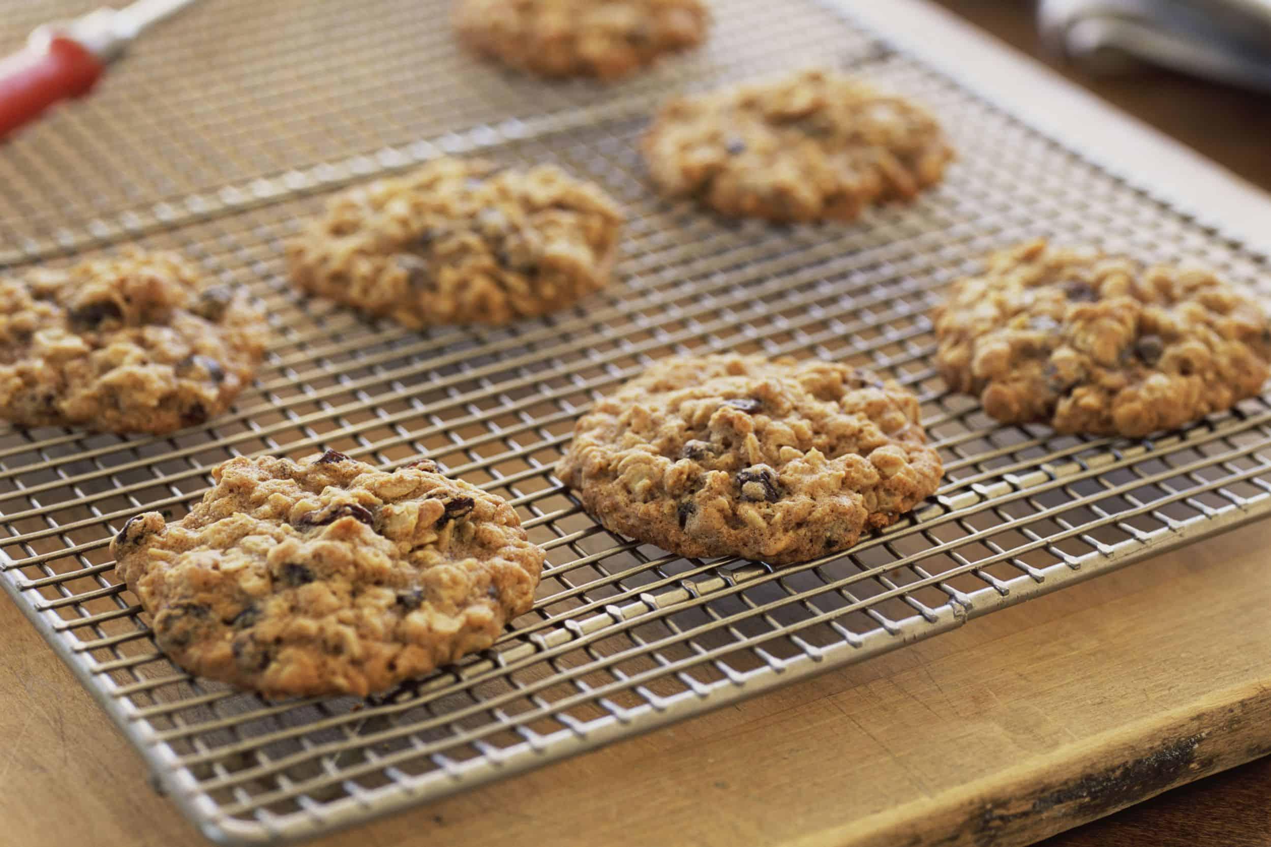 Grandma's old fashioned oatmeal raisin cookies
