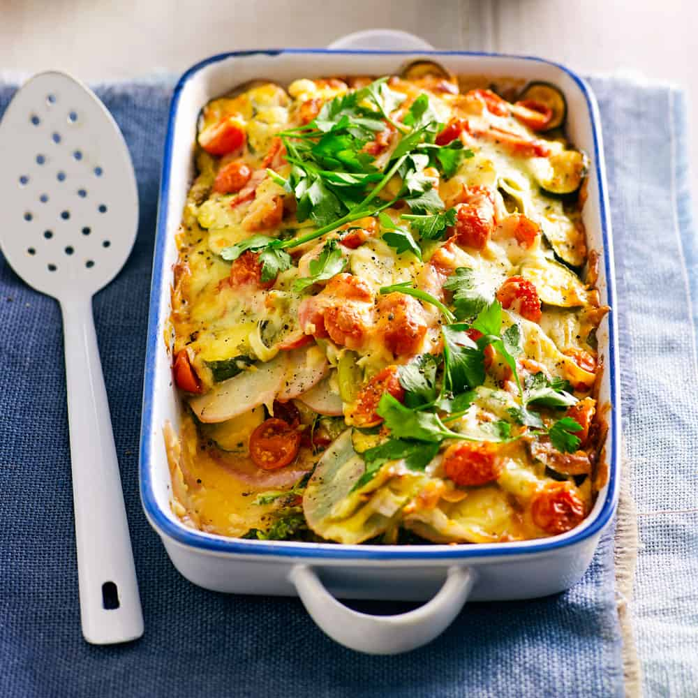 Green vegetable bake