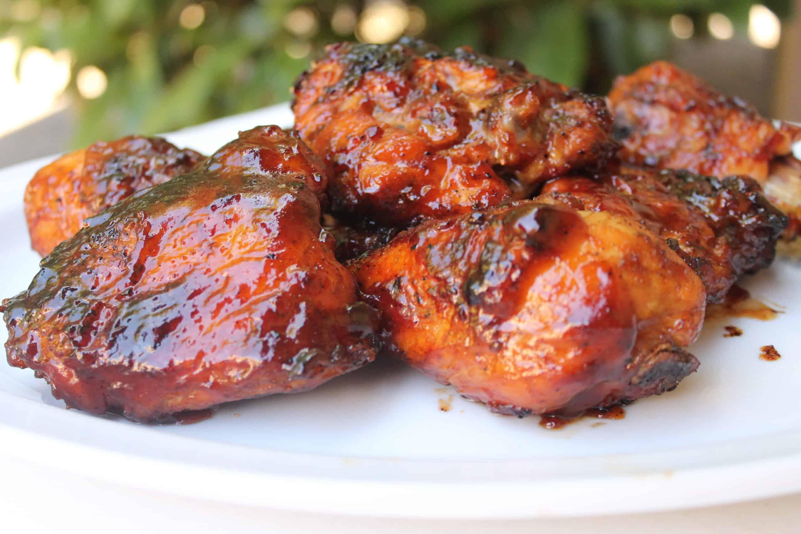 Hickory smoked bbq chicken