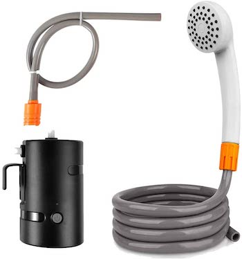 Jayetec Portable Outdoor Shower Set