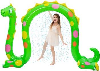 Joyin inflatable dragon arch yard sprinkler