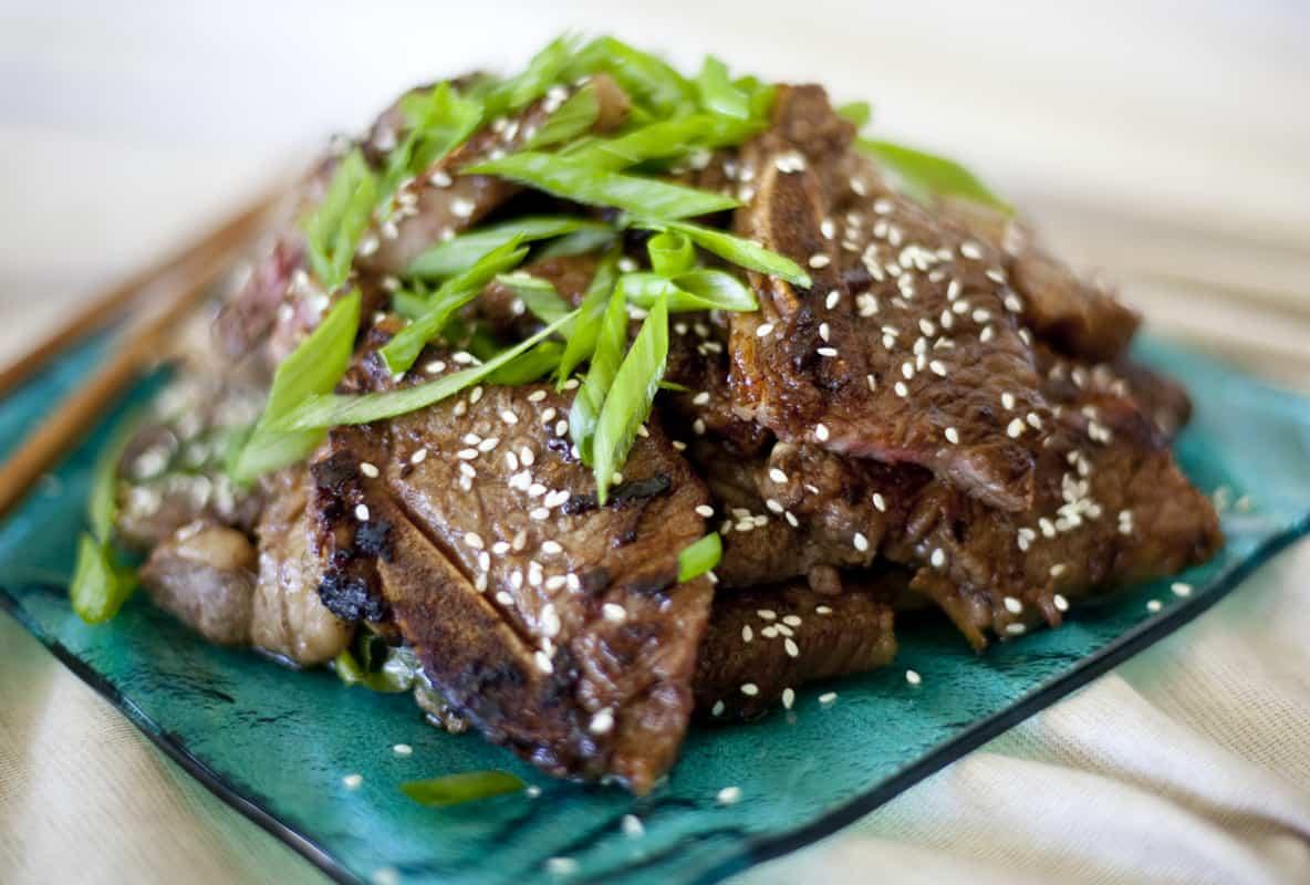 Korean beef short rib recipe