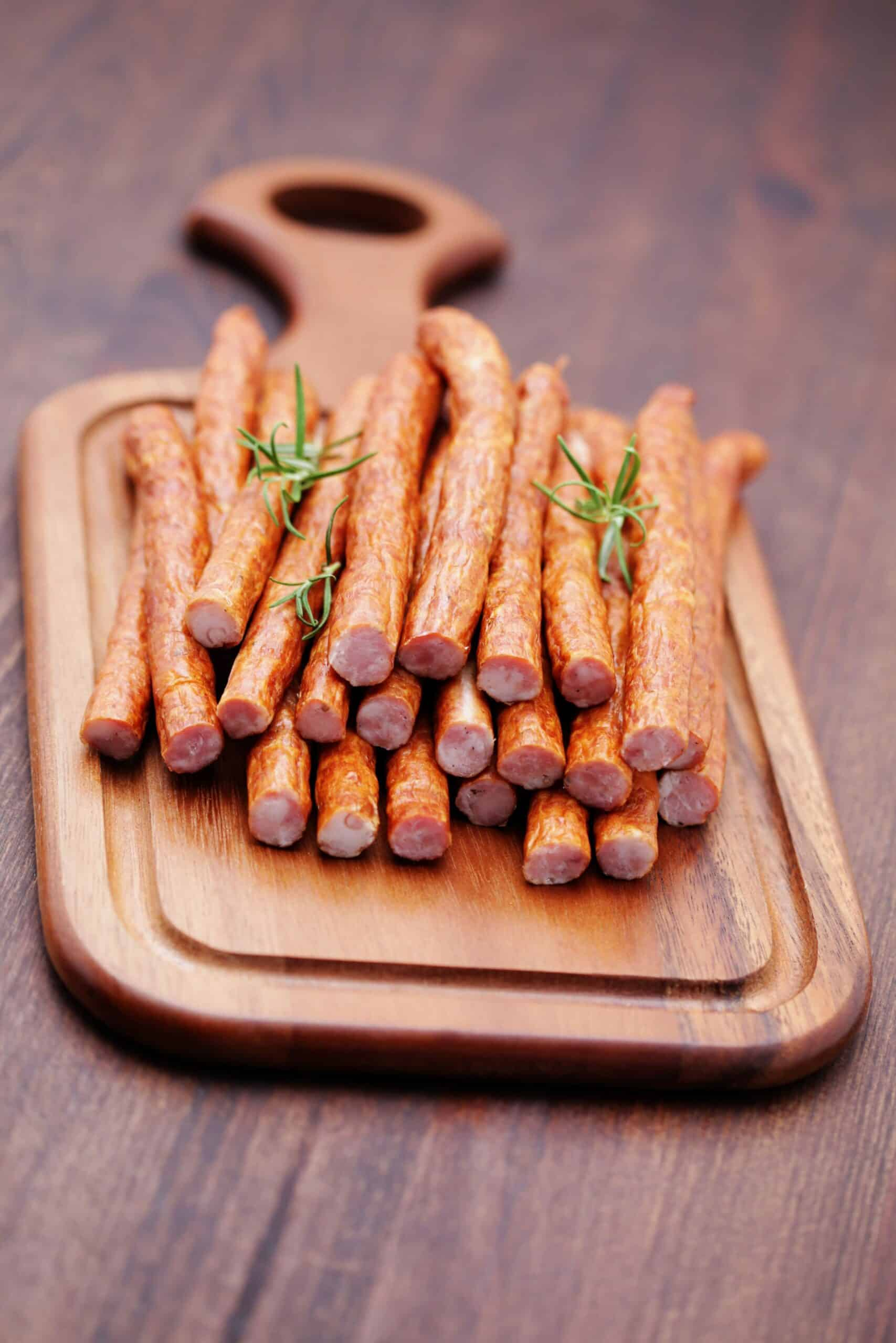 Make your own smoked beef sticks