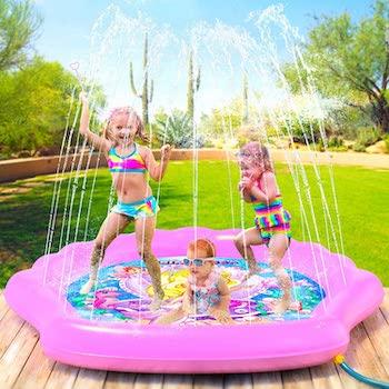 Princessea splash pad for girls
