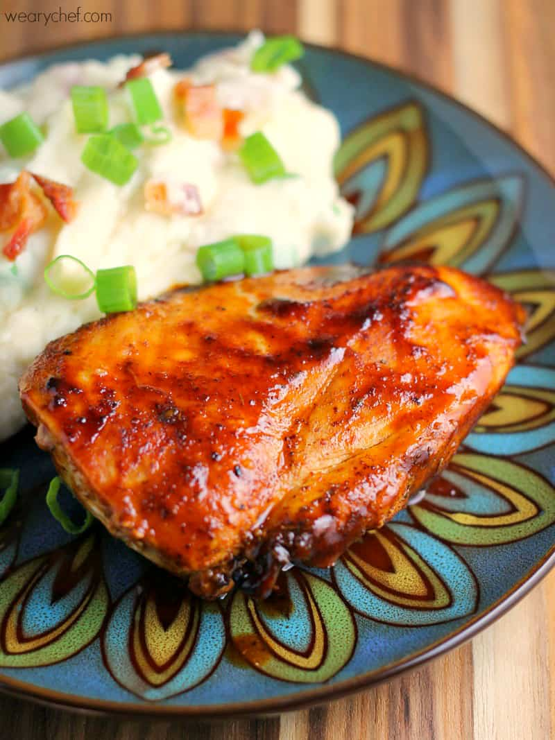 Stovetop bbq chicken (no grill required)