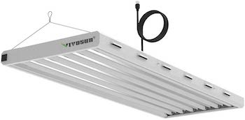 Vivosun 6500k 4ft t5 ho fluorescent grow light fixture for indoor plants