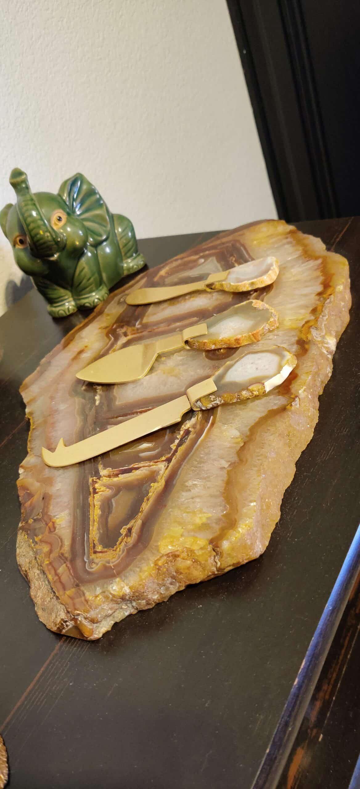Gem stone charcuterie board