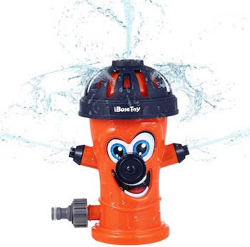 Ibasetoy fire hydrant sprinkler for kids