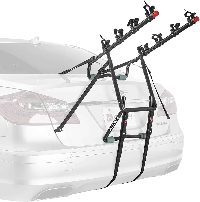 6 allen sports deluze 4 bike trunk mount rack model 104db r
