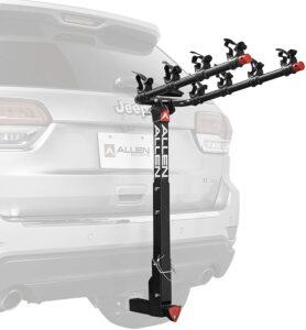 Allen Sports Deluxe Locking Quick Release 4-Bike Rack