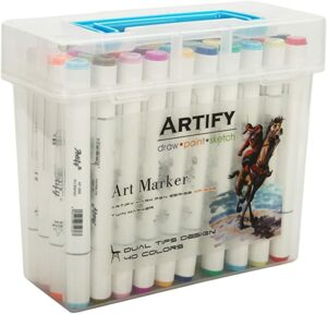 Artify Artist 40-Piece Marker Set