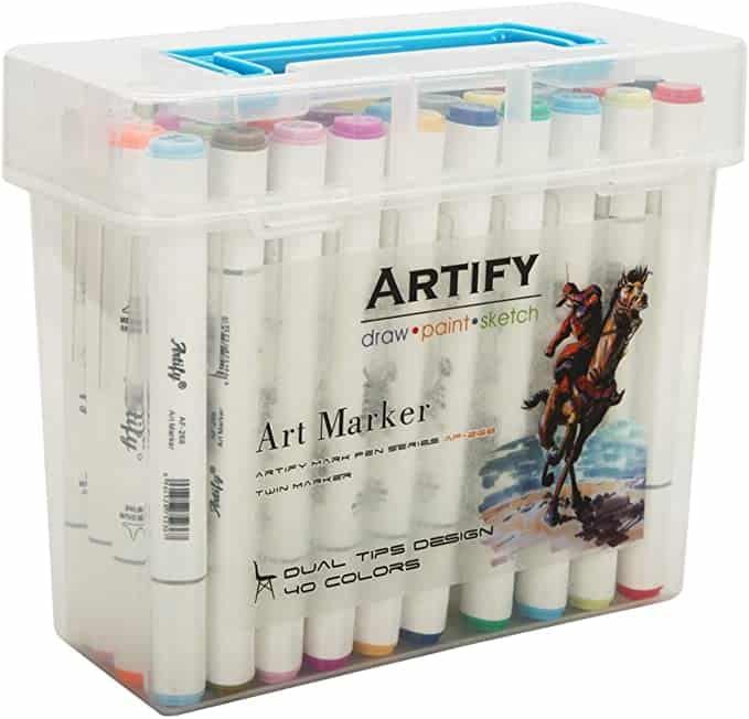 Artify artist 40 piece marker set