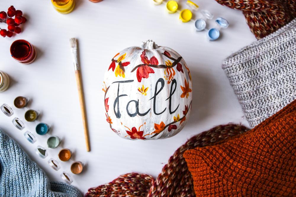 Cool pumpkin painting ideas fall pumpkin