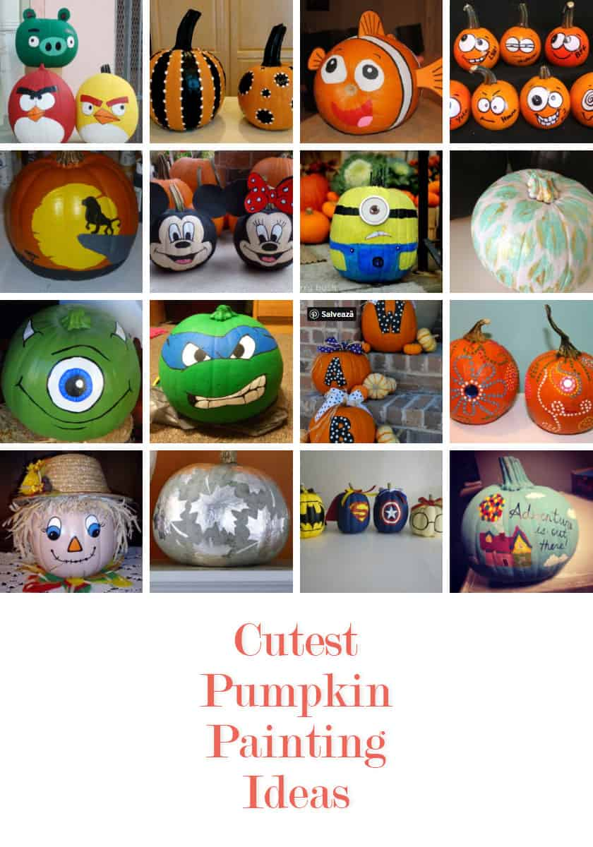 15 Easy Pumpkin Painting Ideas That Look Cute 2020 Edition