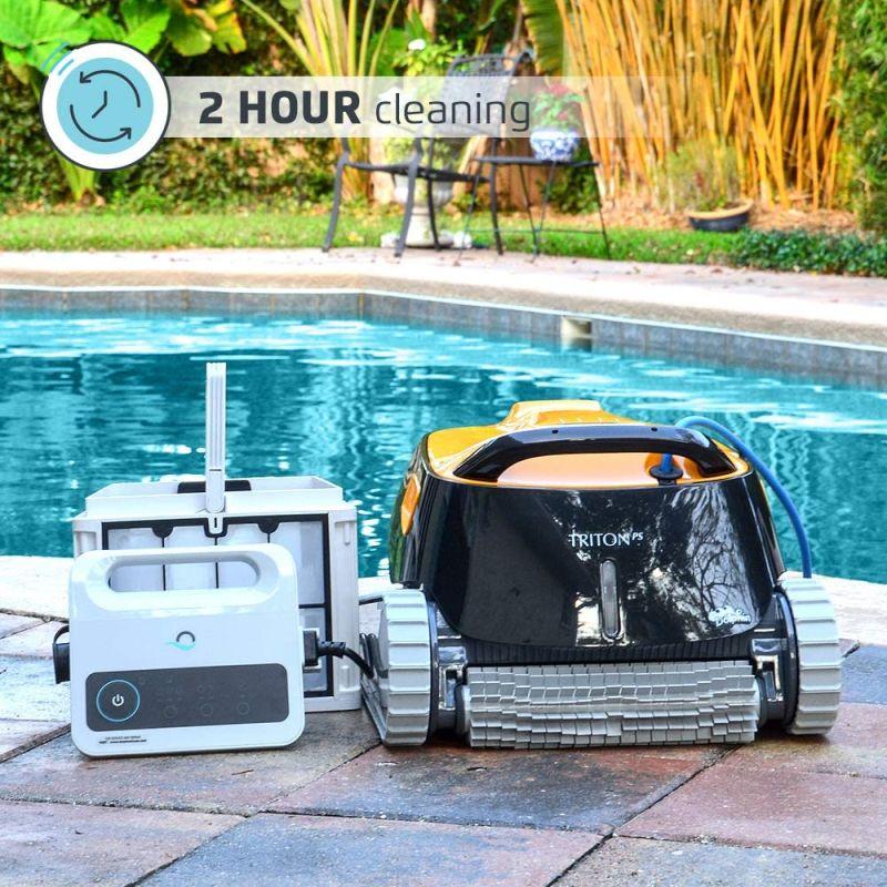 Dolphin triton ps automatic robotic pool