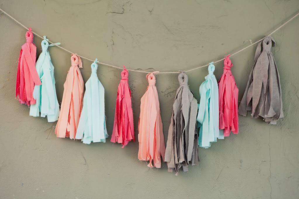 Fabric tassels