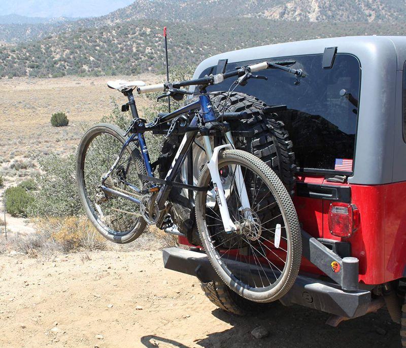 Hollywood racks sr1 spare tire rack 2 bike spare tire mount rack