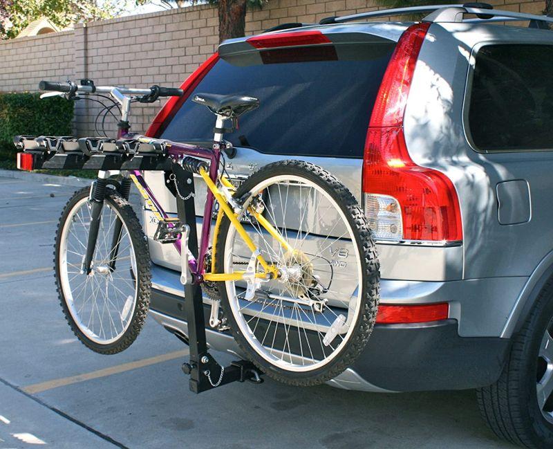 Maxxhaul (70210) 4 bike deluxe hitch mount rack