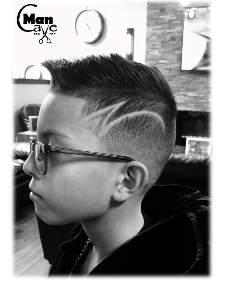 Side style boys haircuts