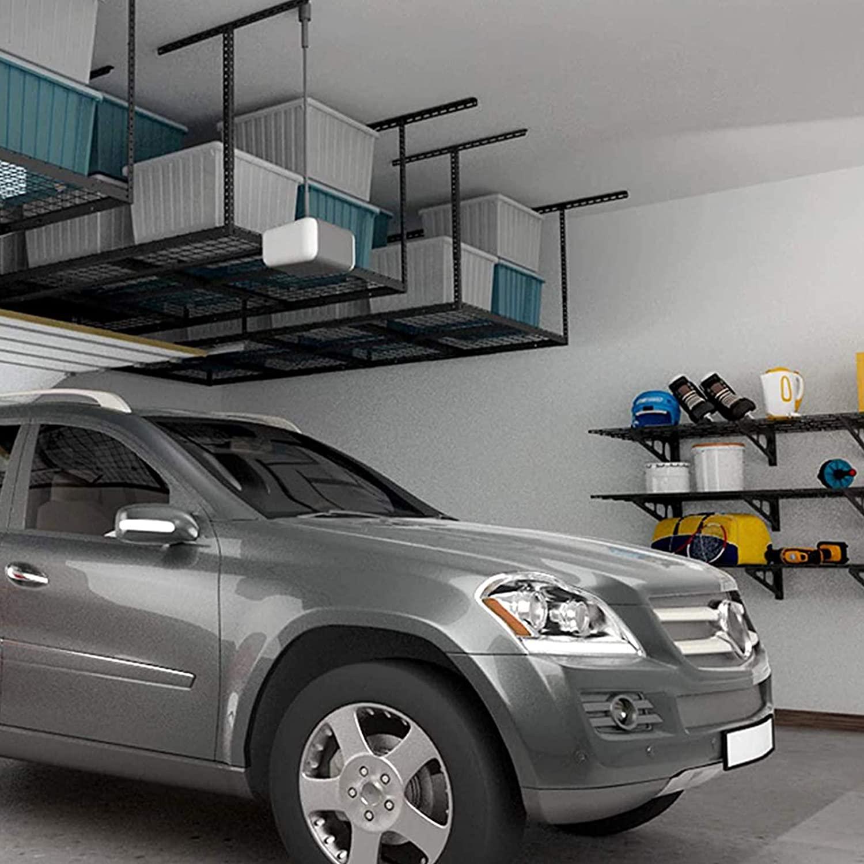Best overhead garage storage racks