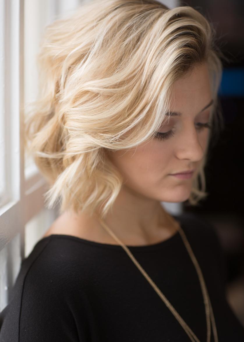 Easy curls for medium hair