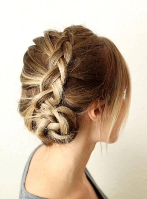 Pretty and easy diy dutch aka inside out french braid