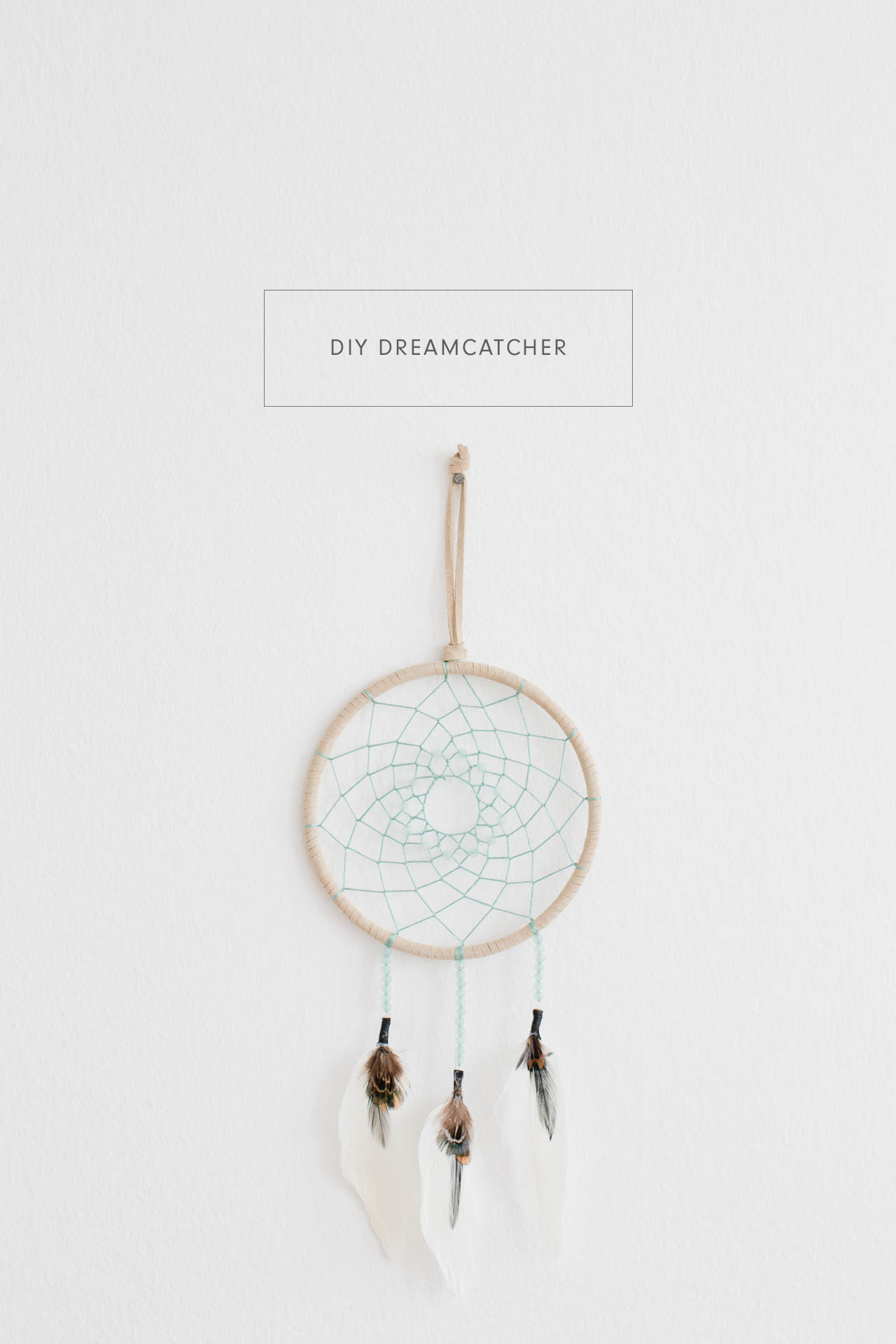 Simple diy dreamcatcher