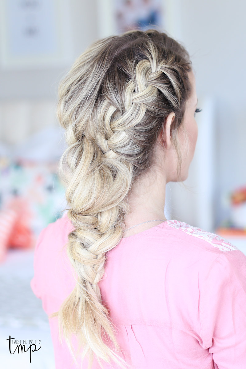 The mixed french braid diy