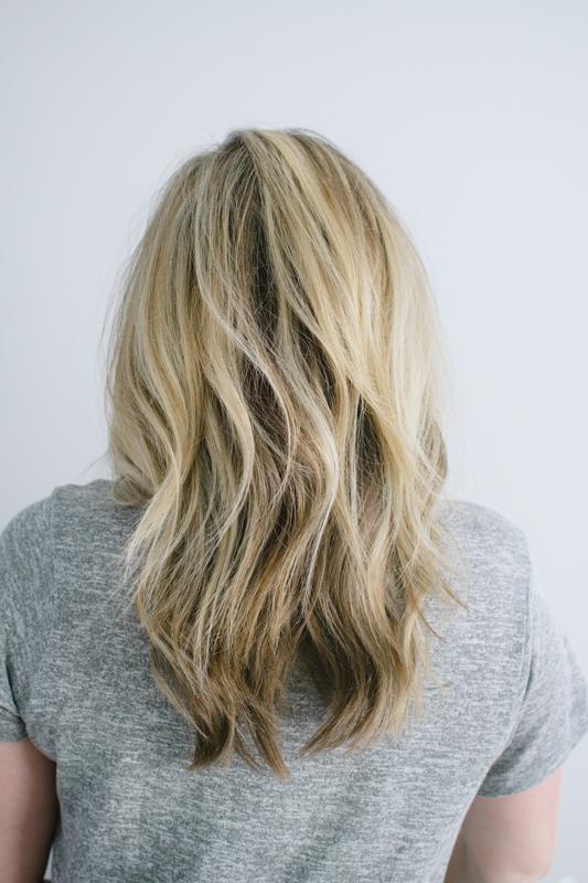 Undone waves hair tutorial
