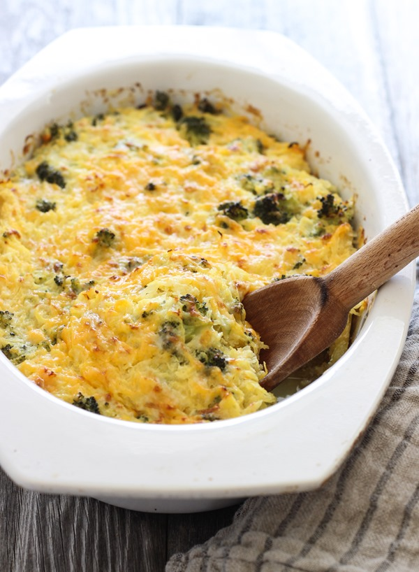 Broccoli cheddar spaghetti squash bake 2 thumb