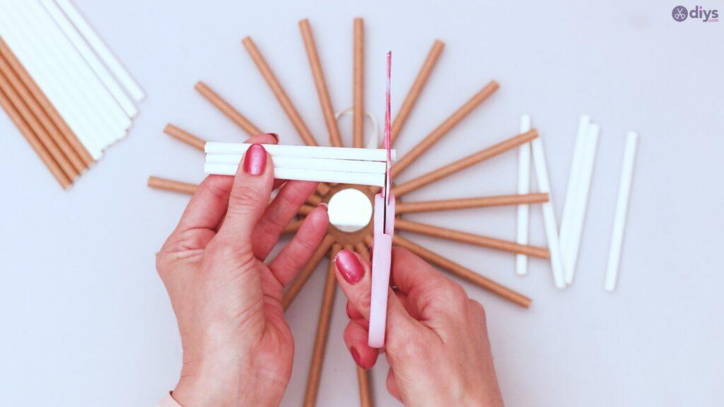 Paper straw wreath diy (27)