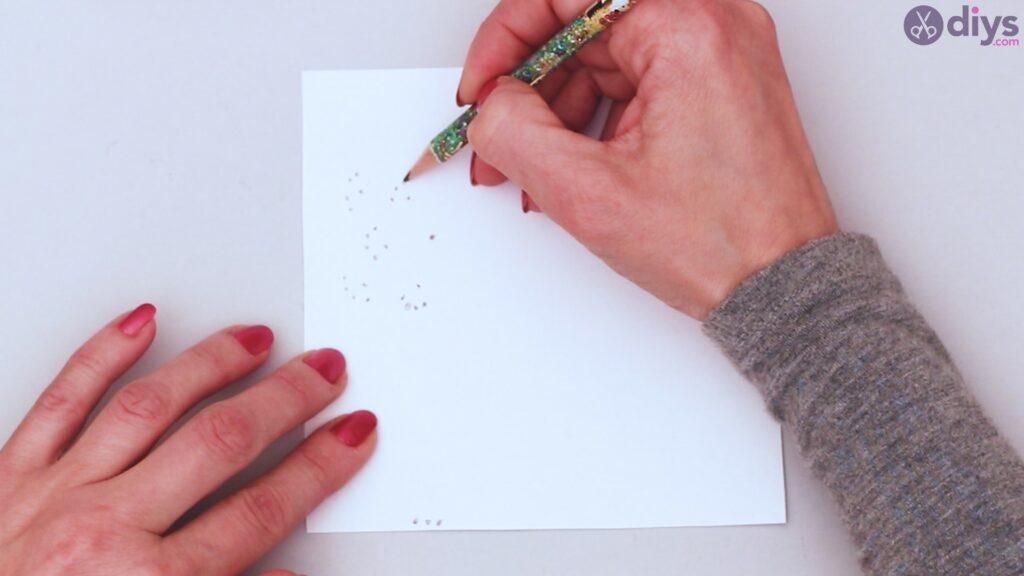 String dandelion wall art step 1 (10)