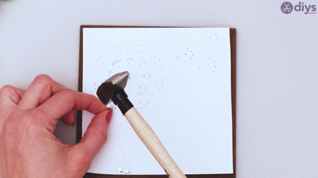 String dandelion wall art step 1 (15)