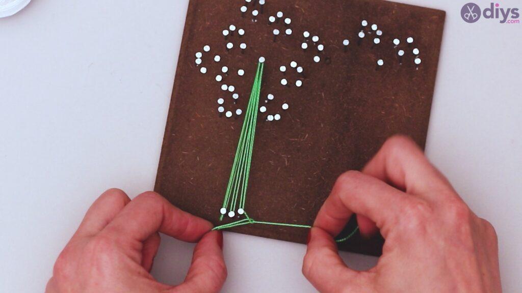 String dandelion wall art step 1 (22)