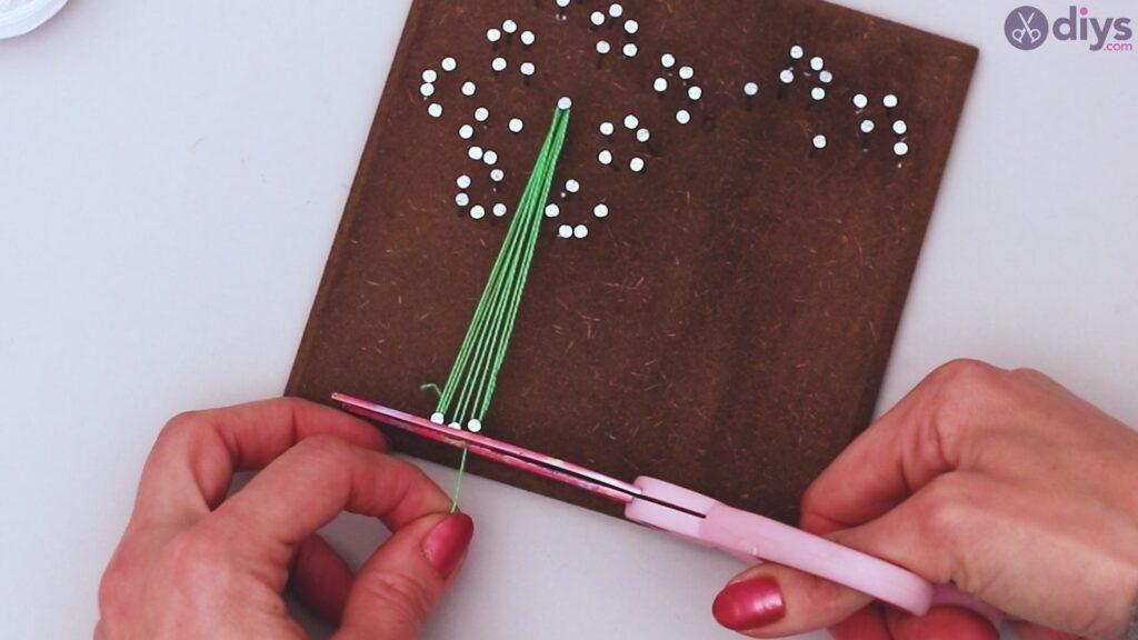 String dandelion wall art step 1 (23)
