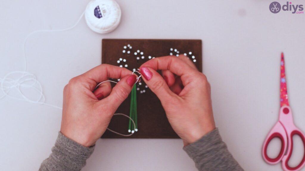 String dandelion wall art step 1 (25)