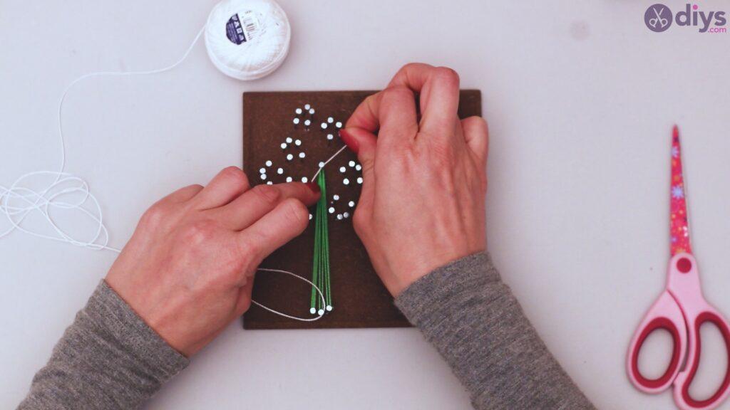 String dandelion wall art step 1 (26)